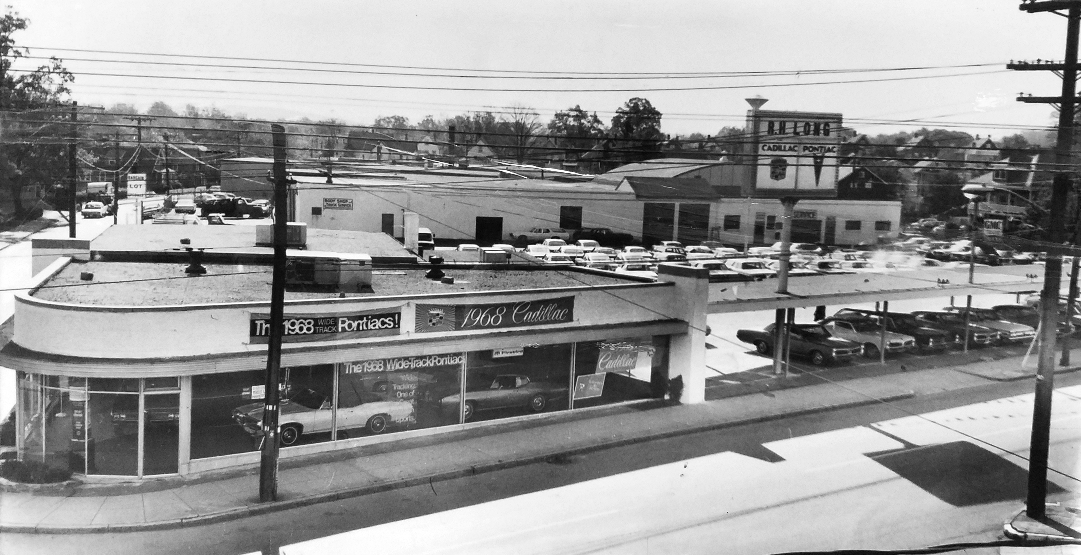 R.H. Long dealership c.1968