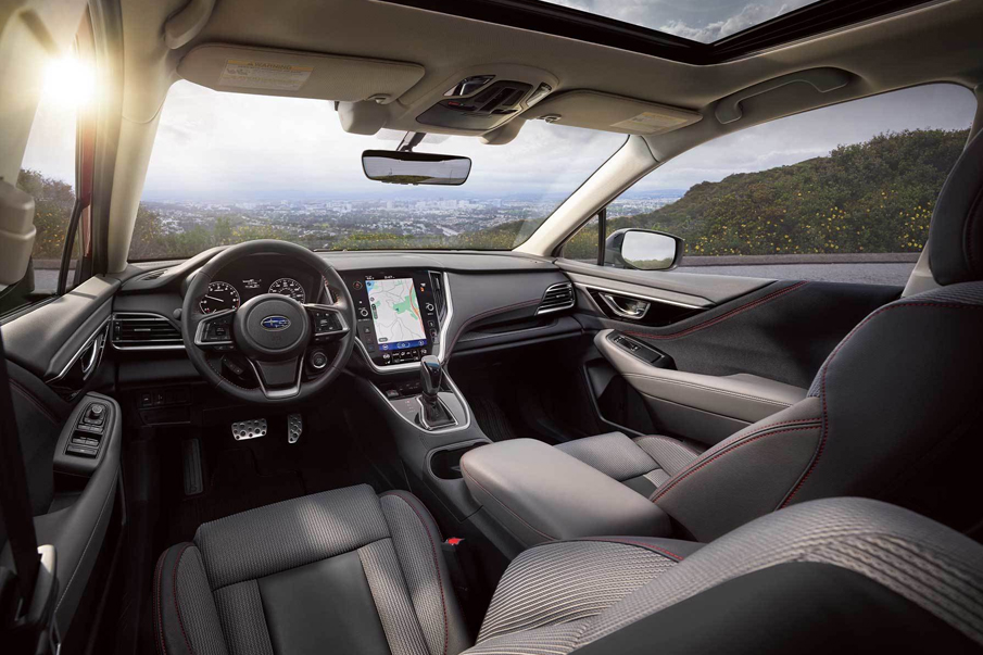 Subaru Legacy Sport Interior
