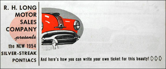 offer brochure c. 1953