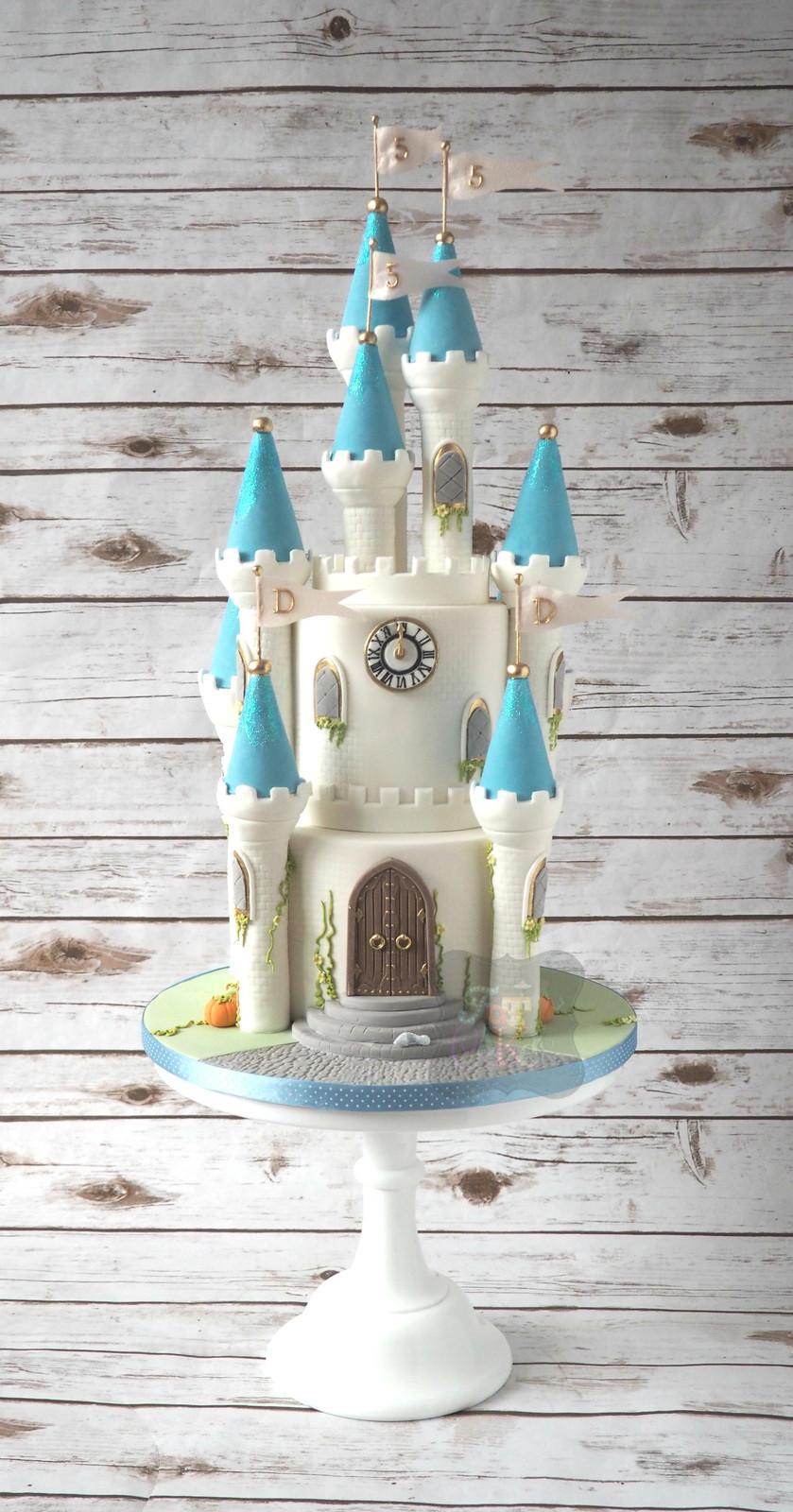Cinderella Castle Birthday Cake