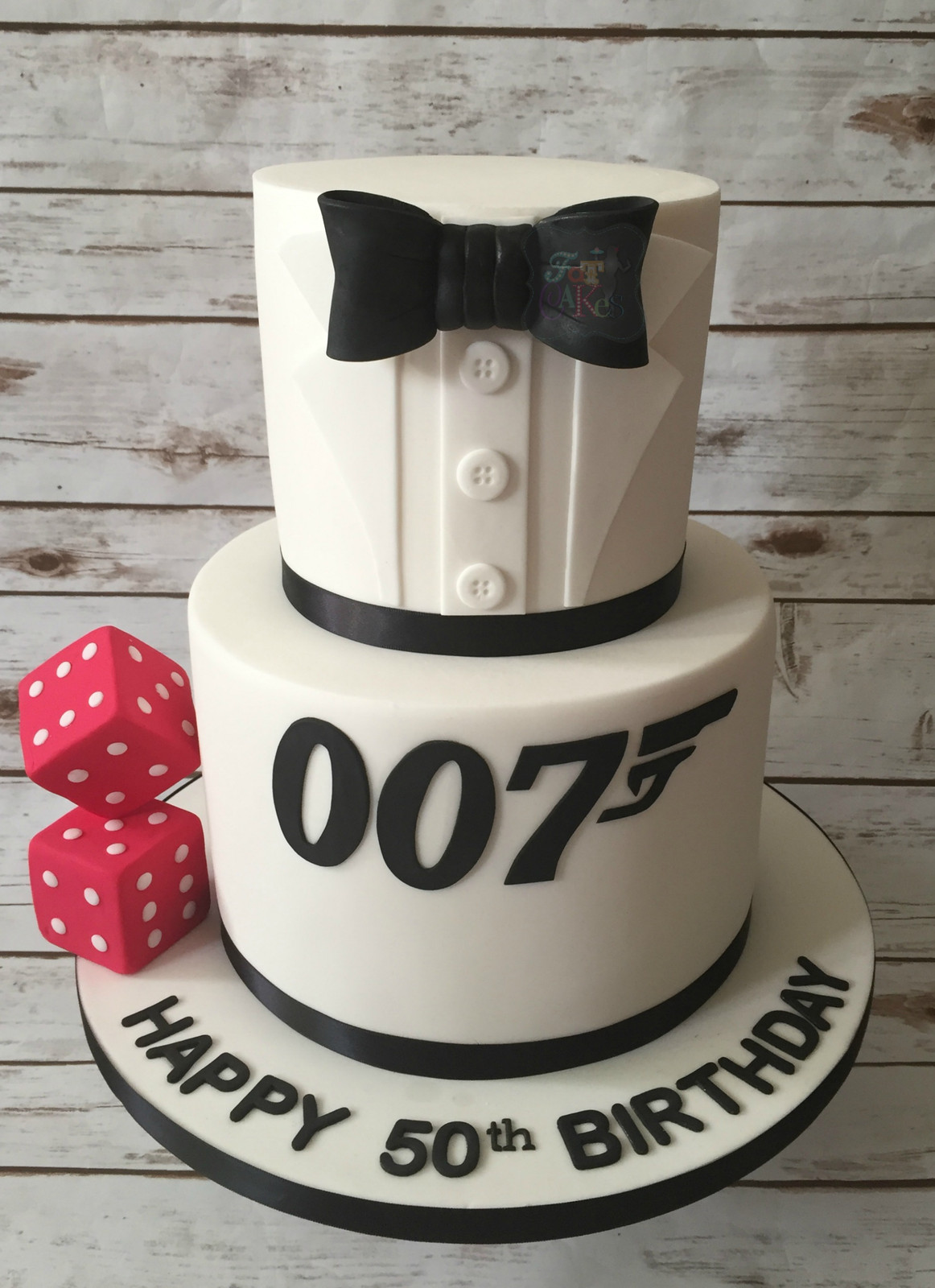 Black And White Birthday Cakes For Men