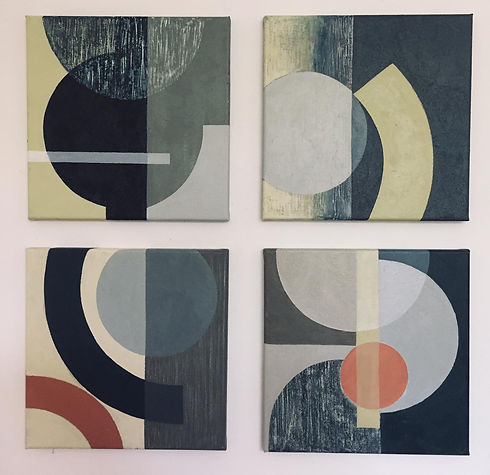 Pat Hutton Abstract / Collage