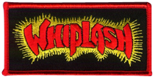 Whiplash Embroidered Patch