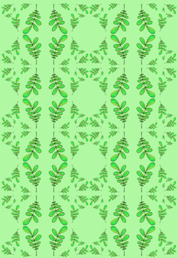 Leafy Textile - Wrapping Paper