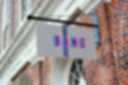 sign mock-up logo
