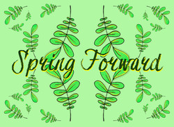 Spring Forward Postcard