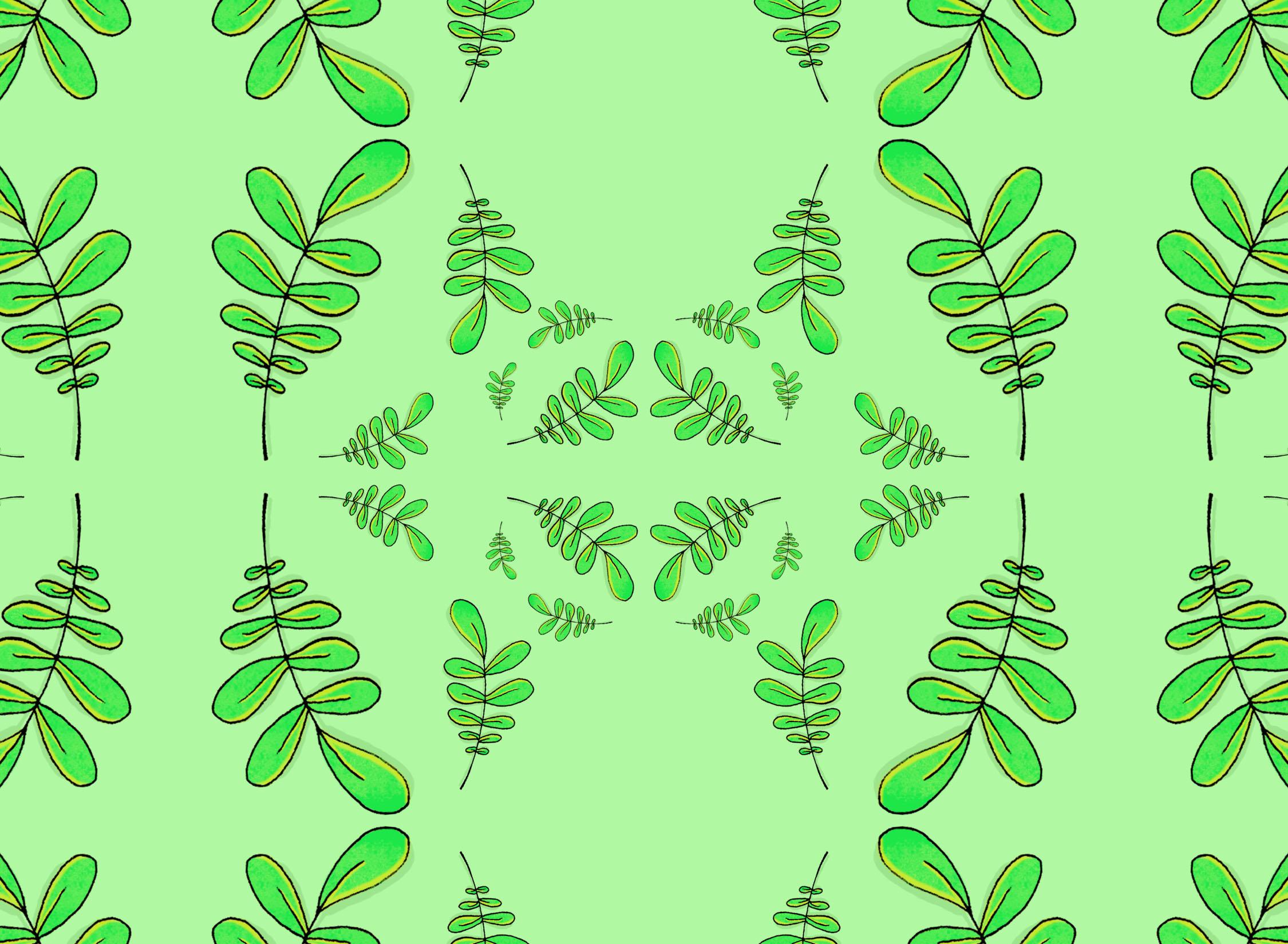 Leafy Postcard 2
