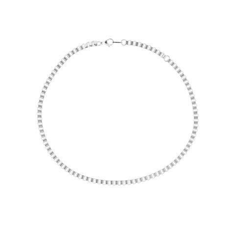 box chain silver