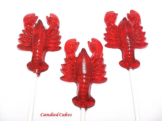 10 LOBSTER LOLLIPOPS