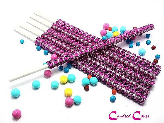 16 - FUCHSIA BLING STICKS