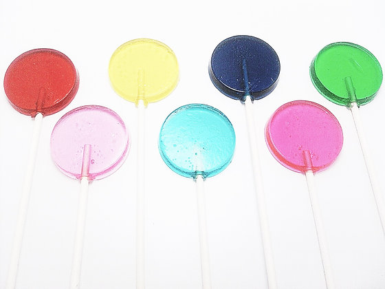 12 FUN POP LOLLIPOPS 1.5""
