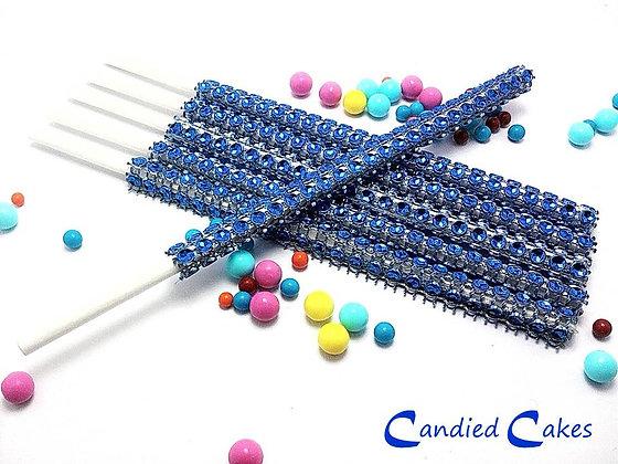 16 - ROYAL BLUE BLING STICKS