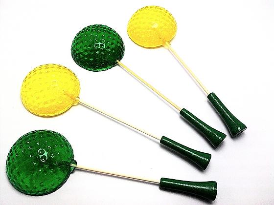 10 GOLF BALL LOLLIPOPS