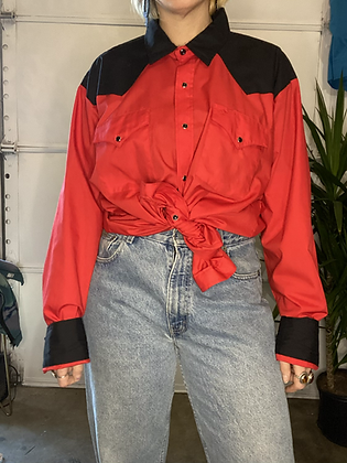 Long john | Vintage western shirt