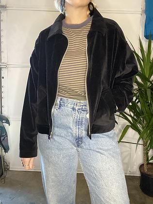 Black magic | Vintage velvet jacket