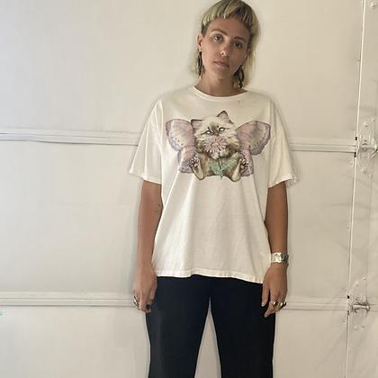 Lazer pussy   Vintage cat t-shirt