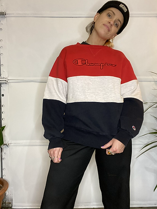 Like a prayer | Vintage Champion sweater