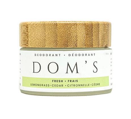 Dom's deodorant | Fresh