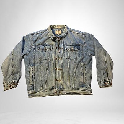 Get down in my denims | vintage lined denim jacket