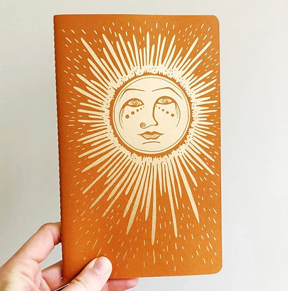 Golden Sun notebook by The Rainbow Vision