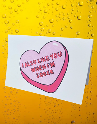 Crafty bitch empire | heart candy valentines card