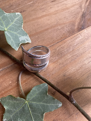 Spoon Ring by Silversmith Spirit