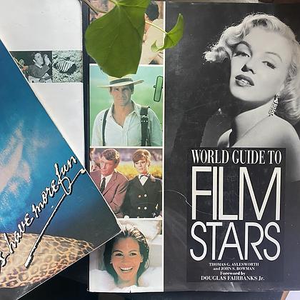 Film stars book