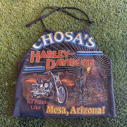 No Place Like Mesa | Up-cycled Harley Davidson Halter