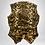 Thumbnail: 80's Faux fur animal print vest