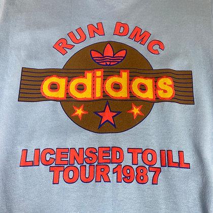 Run DMC | vintage adidas t-shirt