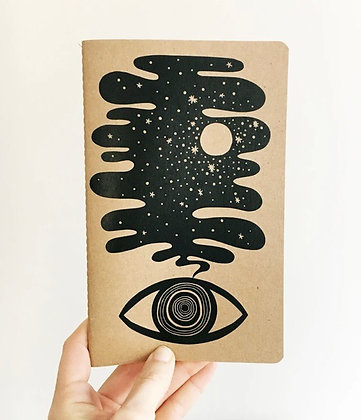 Eye dream notebook by The Rainbow Vision