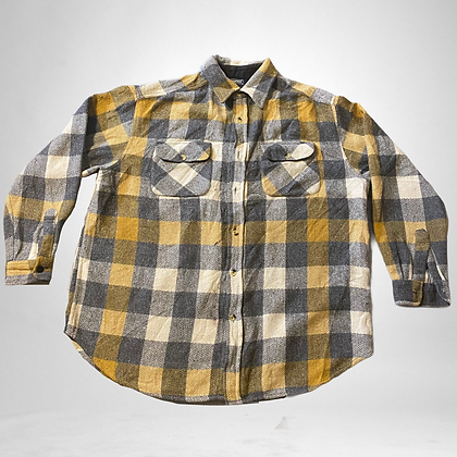 Dick's lumber | 90's style thick plaid shirt