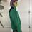 Thumbnail: Green back   vintage polar fleece sweater