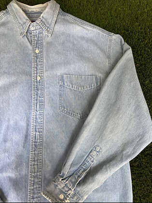 Northcrest denim button up | vintage denim shirt