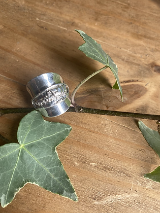 Horse Spoon Ring by Silversmith Spirit