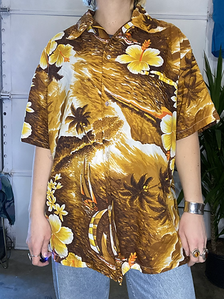 Caramelo sunset | Vintage button up