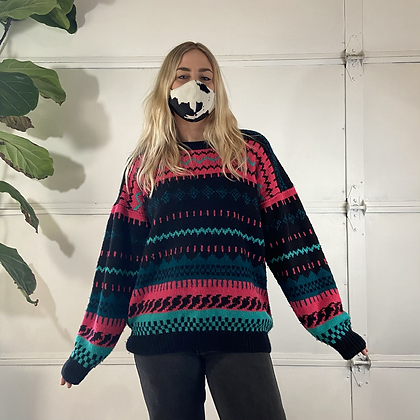 Rave | Vintage Knitted Sweater