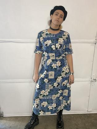 Dress up | vintage maxi dress