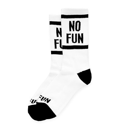 No Fun | No Fun Press Socks