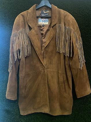 Fringe festival | vintage suede jacket