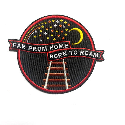 Far from home | Explorer's Press Patch