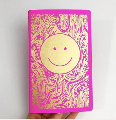 Smiley dot notebook by The Rainbow Vision