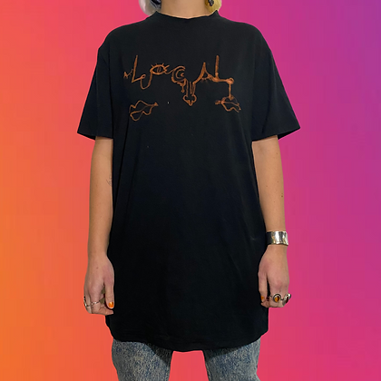 Dont annoy the locals collab | Handmade bamboo T-shirt