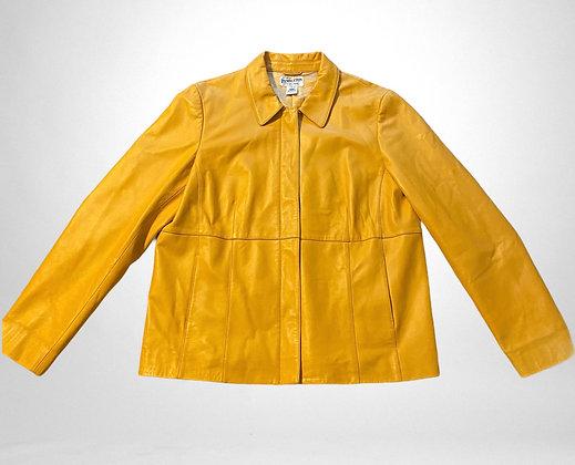 Buttercup | Vintage yellow Pendleton jacket