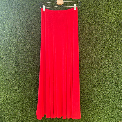 Red devil | vintage red skirt