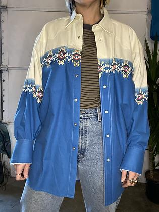 Rainy day | Vintage western shirt