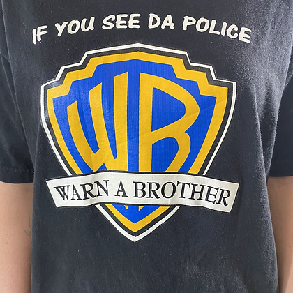 Warn a brother | Vintage comic T-shirt