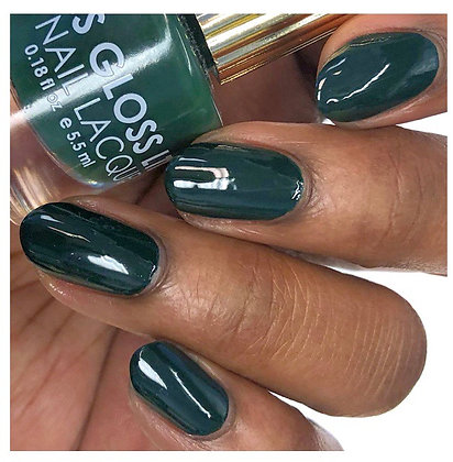 """Night Palm"" Floss Gloss Vegan Nail Polish"