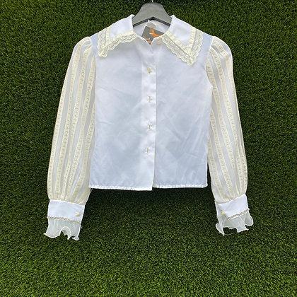 Photocopy | Vintage white blouse