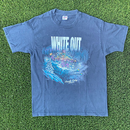 White out, park city vintage t-shirt